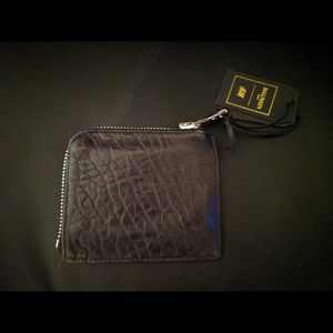 Balmain x HM mini zip wallet